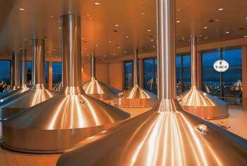 Besuch der Krombacher Brauerei